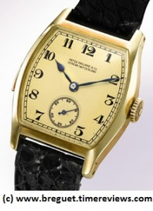 Patek Philippe Henry Graves Jr. Gold Tonneau