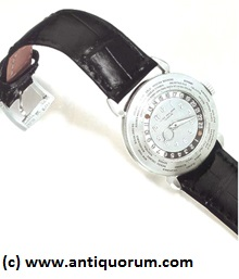 7 Patek Philippe Referenz 1415 Platinum World Time Watch