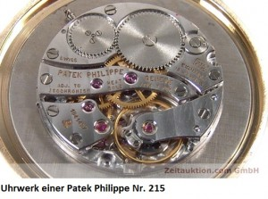 Uhrwerk einer Patek Philippe Nr. 215