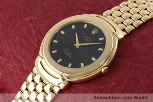 ROLEX 18K (0,750) GOLD CELLINI HERRENUHR REF. 6623 MIT DAMIER-BAND