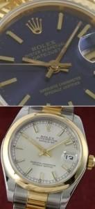 Rolex Oyster Perpetual und Datejust