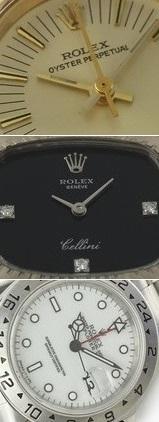 Rolex Oyster Perpetual, Cellini und Explorer II