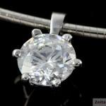 """""""InLumen"""" Diamantanhänger Paris aus Platin"""