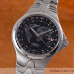 EBEL SPORTWAVE GMT AUTOMATIK HERRENUHR EDELSTAHL 9123K51
