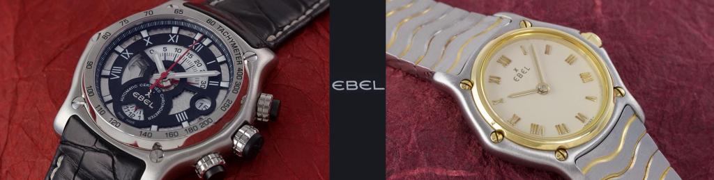 "Ebel ""1911 Chronograph"" und Ebel ""Classic Wave"""