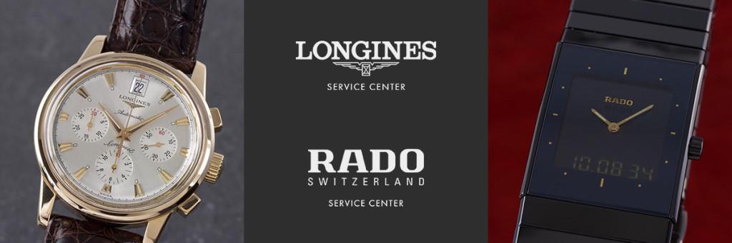 Longines u. Rado Servicecenter